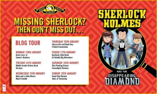 Sherlock Holmes and the Disappearing Diamond Blog Tour