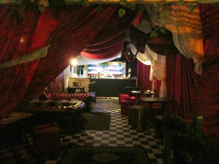 Mini Rumpus upstairs bar