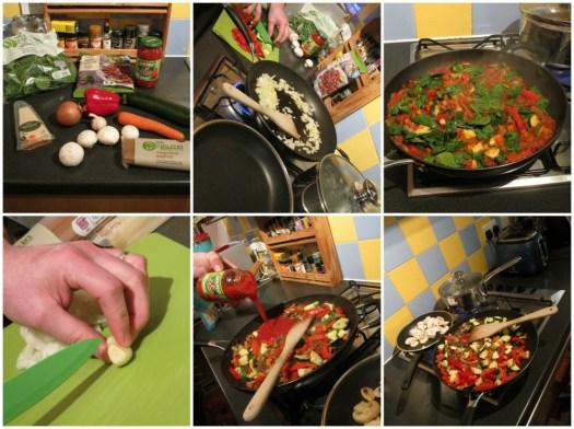 Dolmio cooking