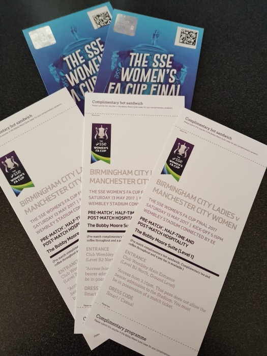 SSE Women's FA Cup Final 2017 tickets, FA Cup Final 2017