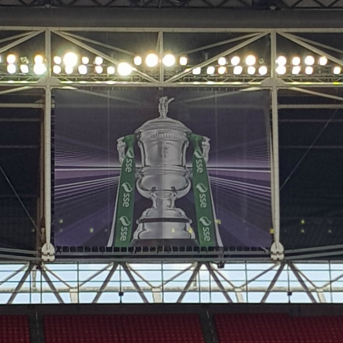 Wembley FA Cup display
