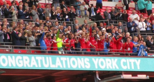 York City win the FA Trophy
