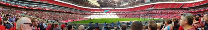 York City at Wembley panorama