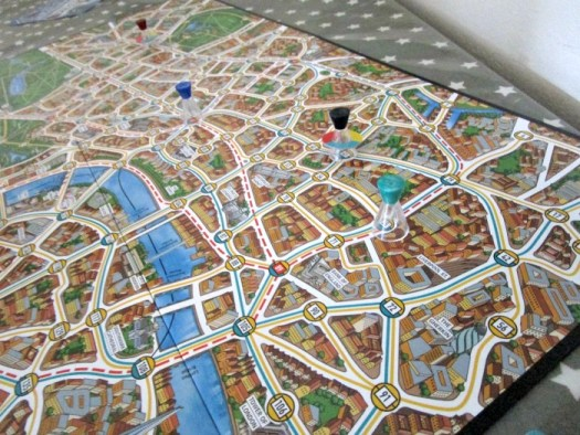 scotland yard board game
