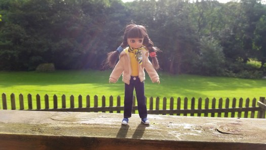 Brownie Lottie at Coombe Mill