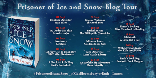 Prisoner of Ice and Snow Blog Tour