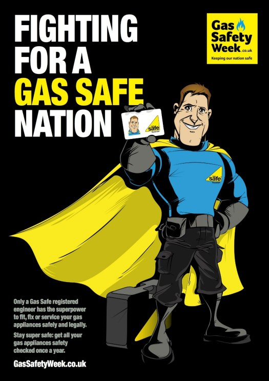 Gas Safety Week 2017 poster, 2017