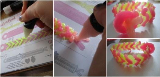 Gel-a-Peel bracelet