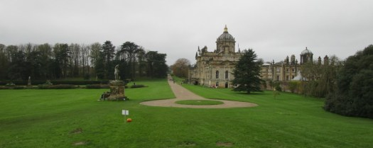 Castle Howard looking back from the hill that leads to Ray Wood