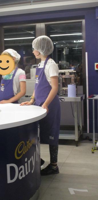 Kidzania Cadburys workshop