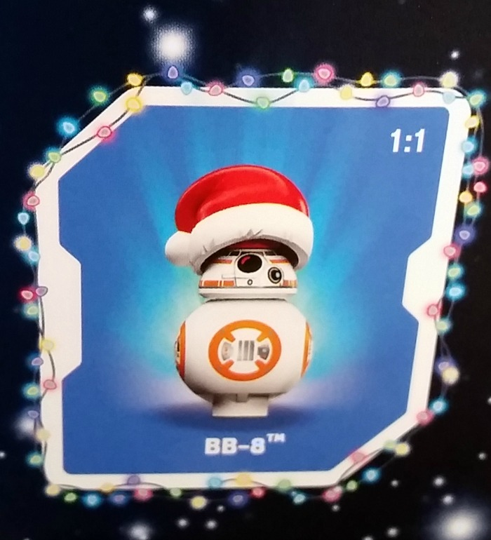 Lego Star Wars Sustainable Advent Calendar 2017, Christmas BB-8 from the 24th December