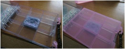 Glam Goo bag compartments