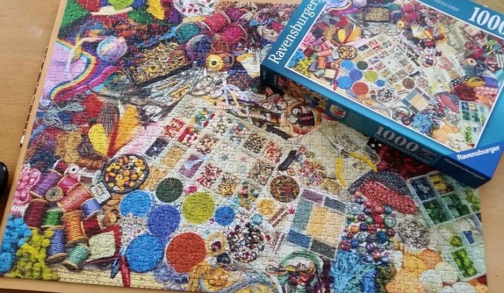 ravensburger make it medley jigsaw
