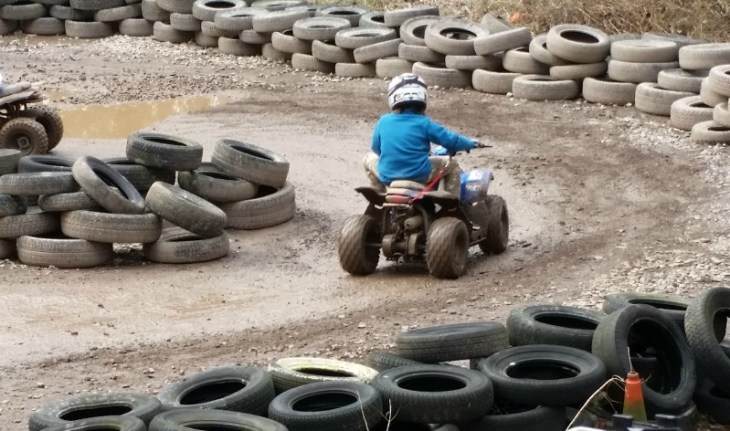 Quad biking fun at PGL Marchants Hill