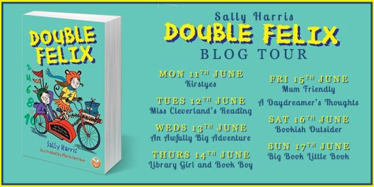 Double Felix by Sally Harris Banner