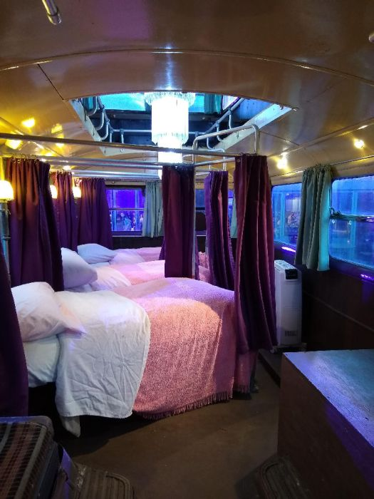 Inside the Knight Bus