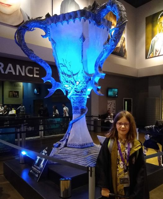 Large Goblet of Fire at WB Studio Tour Leavesden