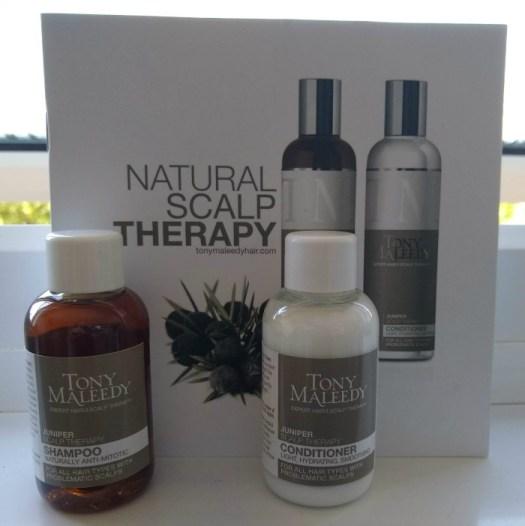 Tony Maleedy Scalp Therapy Shampoo and Conditioner