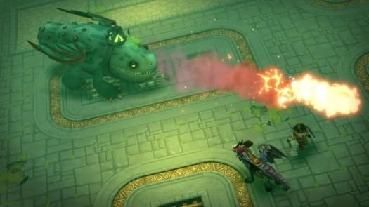 Dragons Dawn of New Riders dragon battle