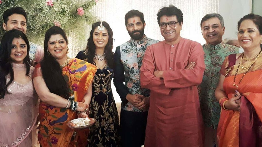 The couple tied the knot in 2012 after dating for few years. Raj Thackeray's son Amit Thackeray gets engaged to Mumbai