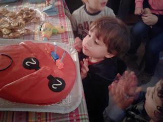 torta barbapapà per secondo compleanno