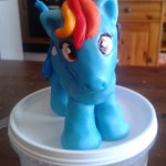 Cake Topper Rainbow Dash