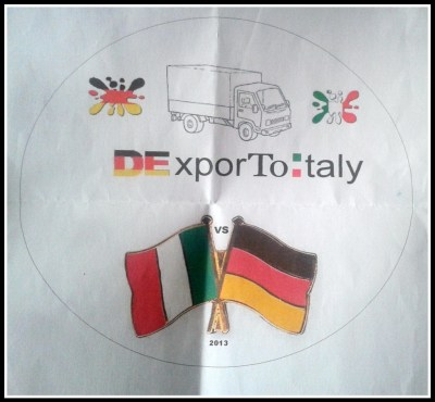Deutschland Export To Italy logo