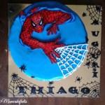 Spiderman cake per Thiago!!!!!