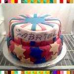 Torta topolino per primo compleanno