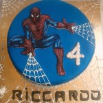 Spiderman-cake