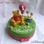 Winnie Pooh-cake-topper