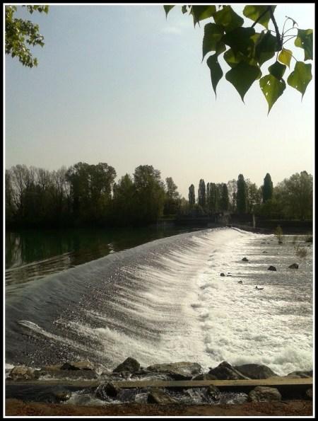 passeggiata lungo Brenta
