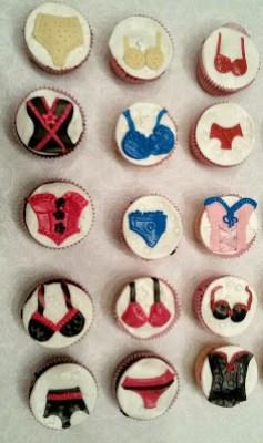 cupcakes lingerie per red velvet lingerie con completi in pasta di zucchero