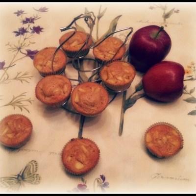 Cupcake strudelini per 50 sfumature di mela