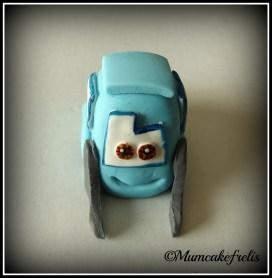 luigi Cars cake topper