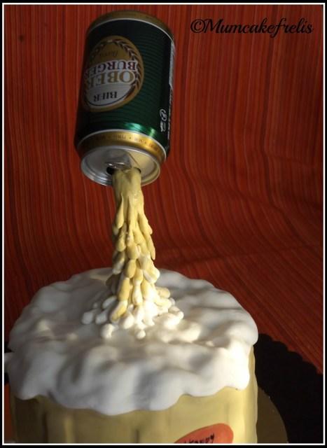 Beer Cake Happy birthday beer cake gravity