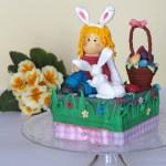 Handamde Easter: Coniglietto pasquale in pasta di zucchero tutorial