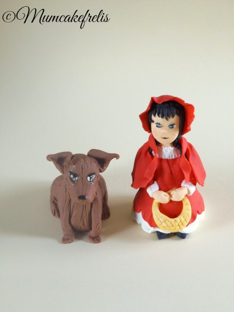 Theme Birthday Parties, Little Red Riding Hood, Little Red, Parties Stuff, Fondant Toppers, Parties Ideas, Red Riding Hoods, Polymer Clay, Cake Toppers