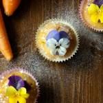 Cupcakes con carote