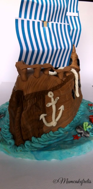 pirate ship cake tutorial,Tutorial torta nave pirata, 3-d ship cake tutorial, pirate ship cakes birthday cake, Cruise Ships, Boat Cake and Cake Structure, Birthday Parties, Making Of pirate ship cake.