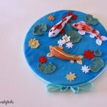 Carpe Koi Cake Topper
