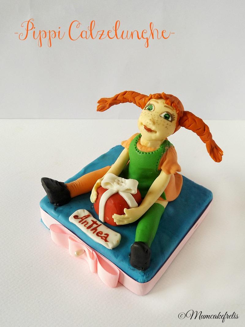 cake topper Pippi calzelunghe