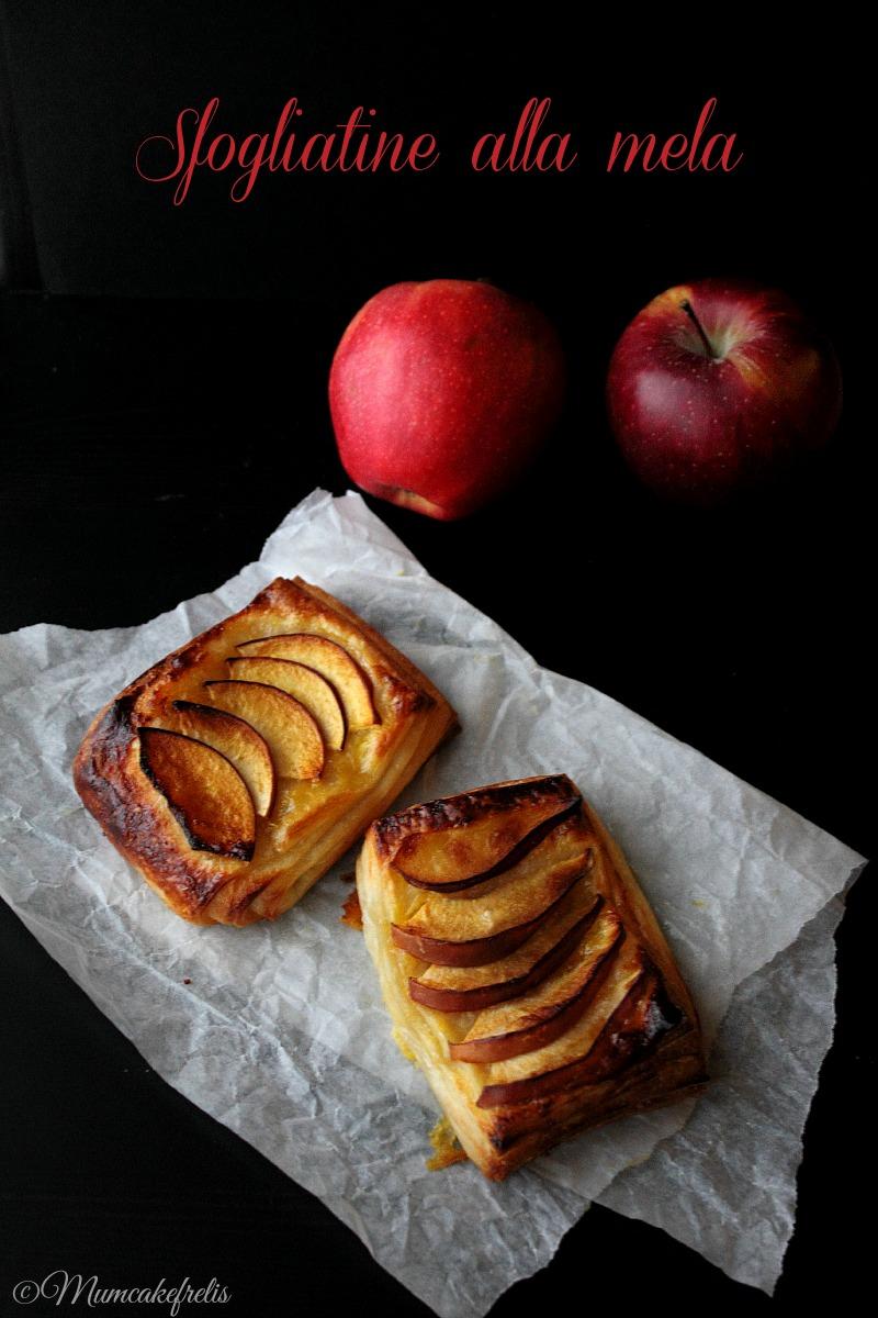 Dolcetti sfogliati con mele