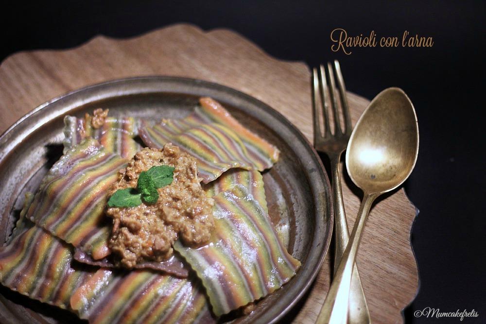 Ravioli con anatra