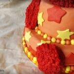 Elmo è qui! Elmo cake.
