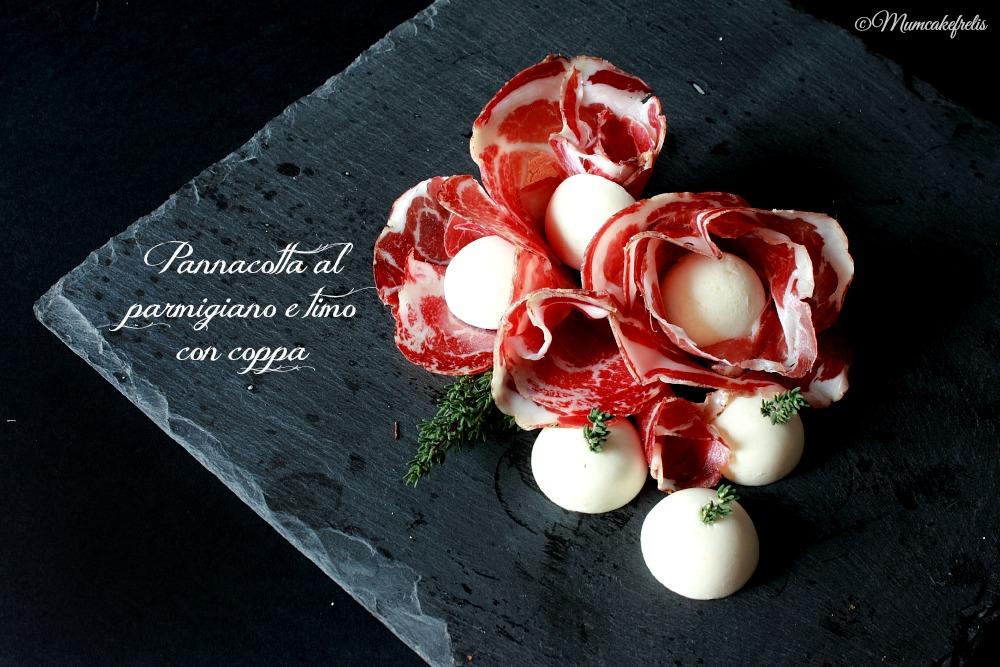 pannacotta al parmigiano e timo