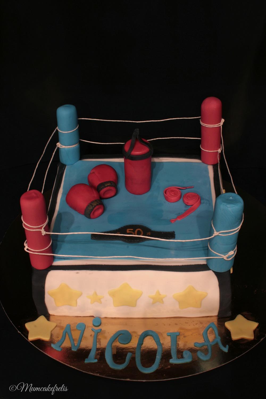 Boxe-Ring Cake