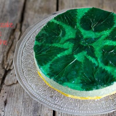 Cheesecake salata alle ortiche per Mtchallenge