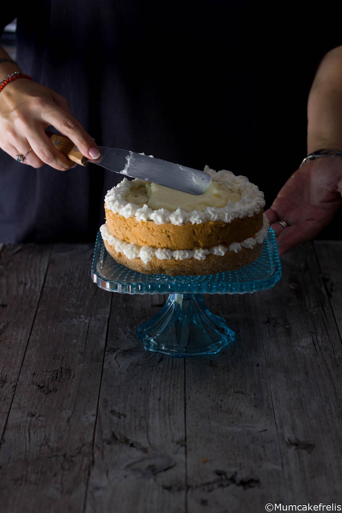 naked cake al sambnuco