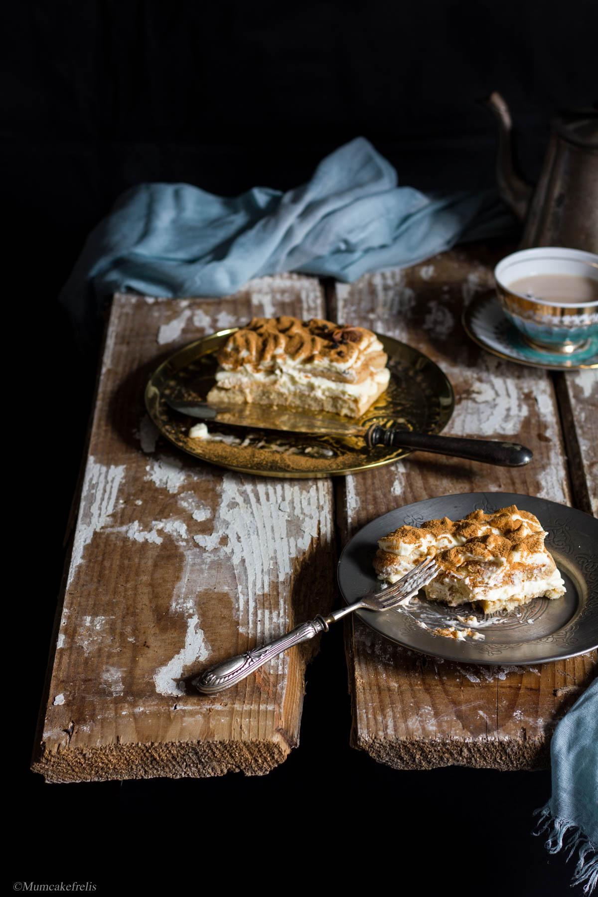 Tiramisu con the masala chai